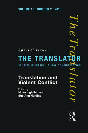 Translation and Violent Conflict book cover