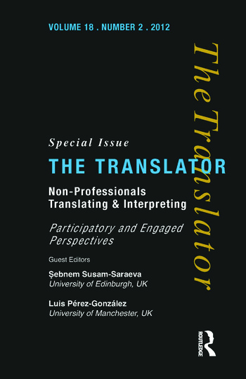 Non-Professional Translating and Interpreting book cover