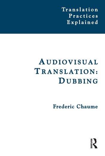 Audiovisual Translation Dubbing book cover
