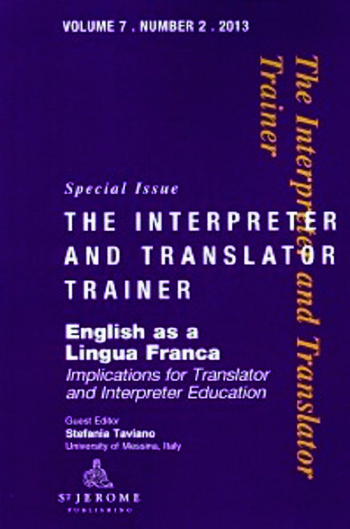 English as a Lingua Franca Implications for Translator and Interpreter Education book cover