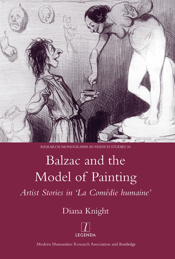 Balzac and the Model of Painting Artist Stories in La Comedie Humaine book cover