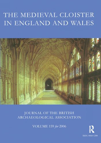 The Medieval Cloister in England and Wales book cover