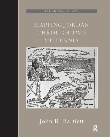 Mapping Jordan Through Two Millennia book cover