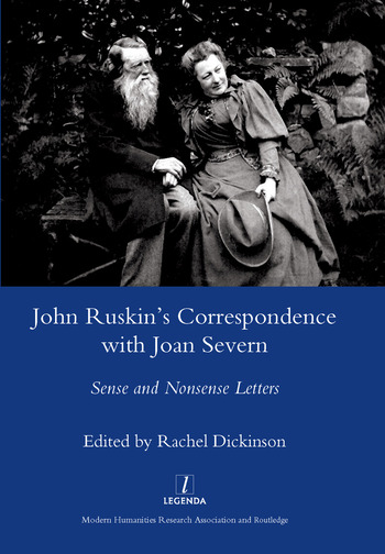 John Ruskin's Correspondence with Joan Severn Sense and Nonsense Letters book cover