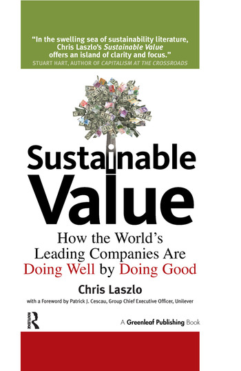 Sustainable Value How the World's Leading Companies Are Doing Well by Doing Good book cover