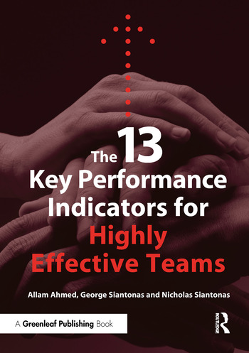 The 13 Key Performance Indicators for Highly Effective Teams book cover