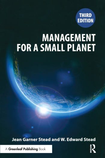 Management for a Small Planet Third Edition book cover