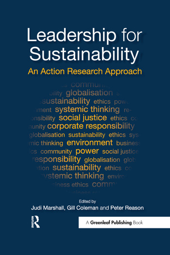 Leadership for Sustainability An Action Research Approach book cover