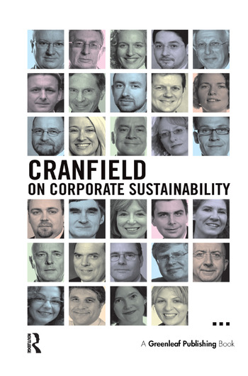 Cranfield on Corporate Sustainability book cover