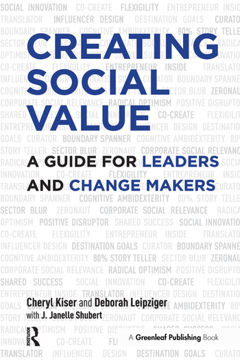 Creating Social Value A Guide for Leaders and Change Makers book cover
