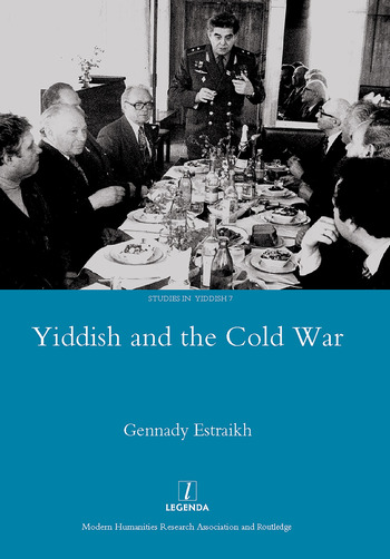 Yiddish in the Cold War book cover