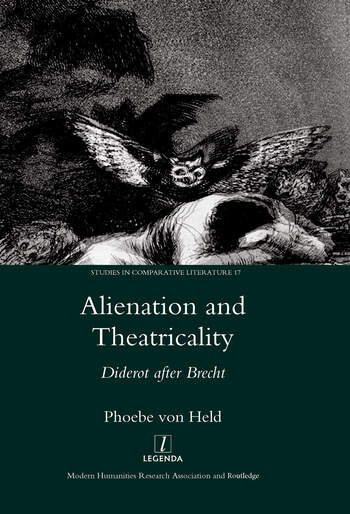 Alienation and Theatricality Diderot After Brecht book cover