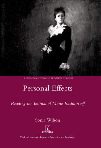 Personal Effects Reading the Journal of Marie Bashkirtseff book cover
