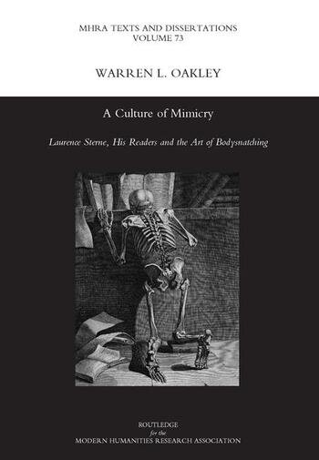 A Culture of Mimicry Laurence Sterne, His Readers and the Art of Bodysnatching book cover