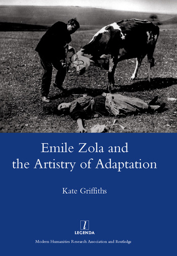 Emile Zola and the Artistry of Adaptation book cover