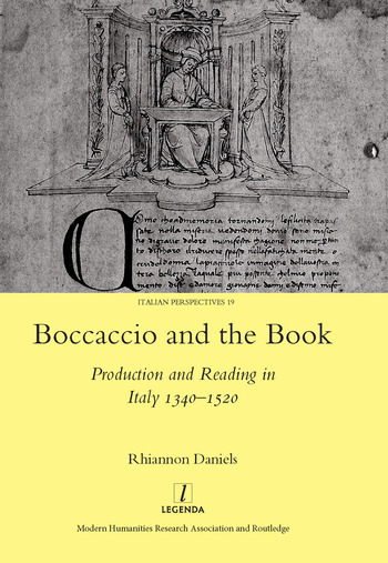 Boccaccio and the Book Production and Reading in Italy 1340-1520 book cover