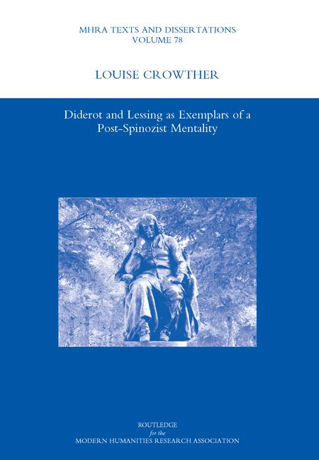 Diderot and Lessing as Exemplars of a Post-spinozist Mentality book cover