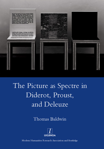 Picture as Spectre in Diderot, Proust, and Deleuze book cover
