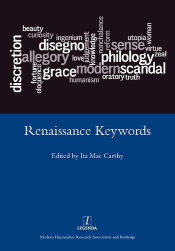 Renaissance Keywords book cover
