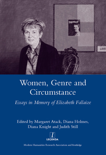 Women Genre and Circumstance Essays in Memory of Elizabeth Fallaize book cover