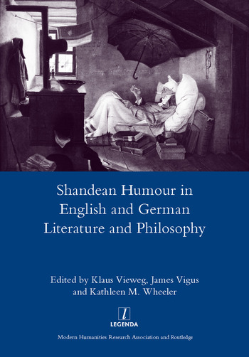 Shandean Humour in English and German Literature and Philosophy book cover