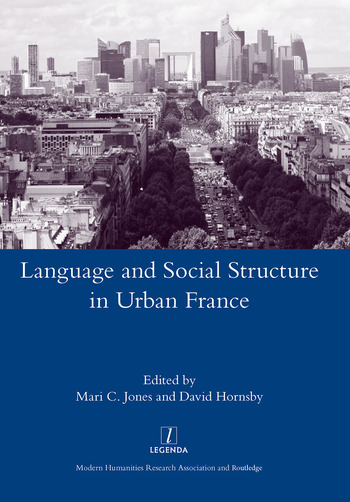 Language and Social Structure in Urban France book cover