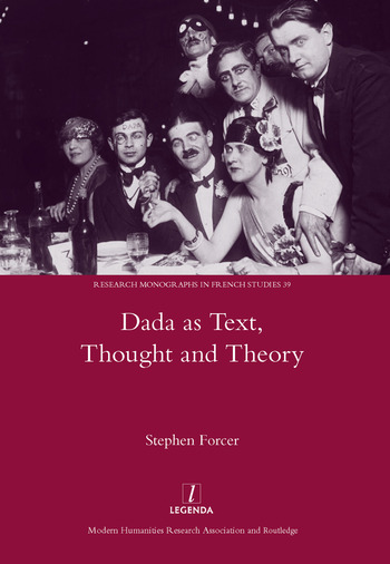Dada as Text, Thought and Theory book cover