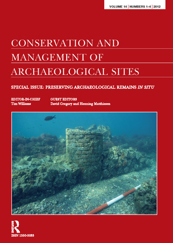 Preserving Archaeological Remains in Situ Proceedings of the 4th International Conference book cover