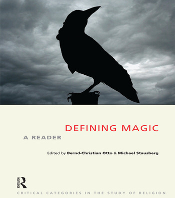 Defining Magic A Reader book cover