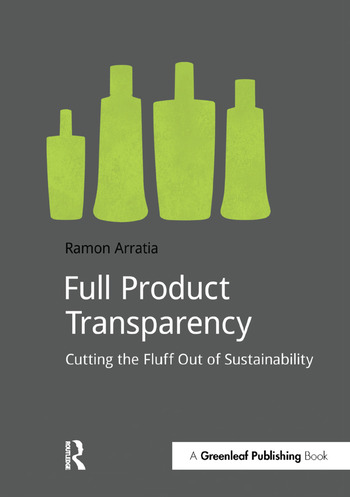 Full Product Transparency Cutting the Fluff Out of Sustainability book cover