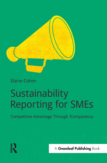 Sustainability Reporting for SMEs Competitive Advantage Through Transparency book cover