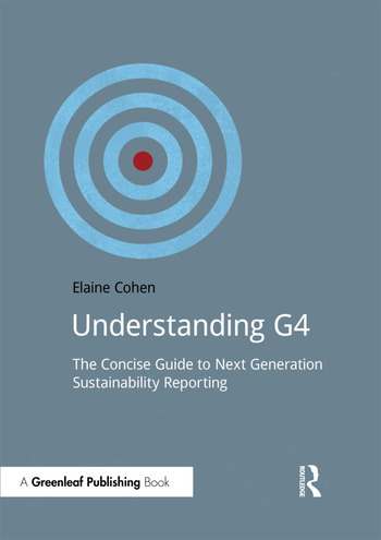 Understanding G4 The Concise Guide to Next Generation Sustainability Reporting book cover