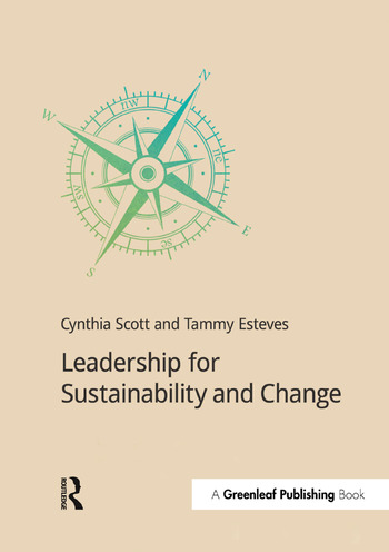 Leadership for Sustainability and Change book cover
