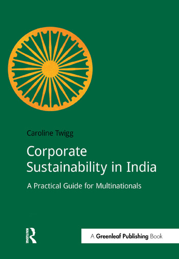 Corporate Sustainability in India A Practical Guide for Multinationals book cover