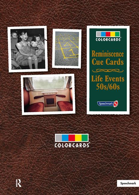 Reminisence Cue Cards 50s/60s: Colorcards book cover