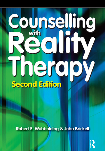 Counselling with Reality Therapy book cover
