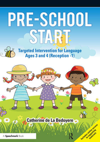 Pre-School Start Targeted Intervention for Language Ages 3 and 4 (Reception -1) book cover