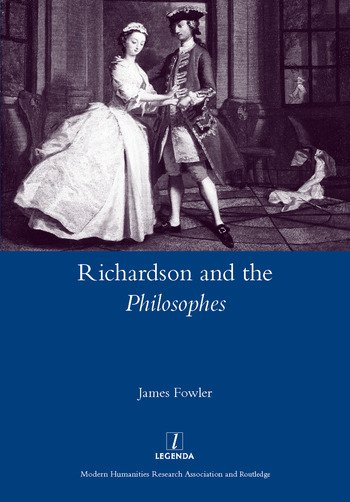 Richardson and the Philosophes book cover