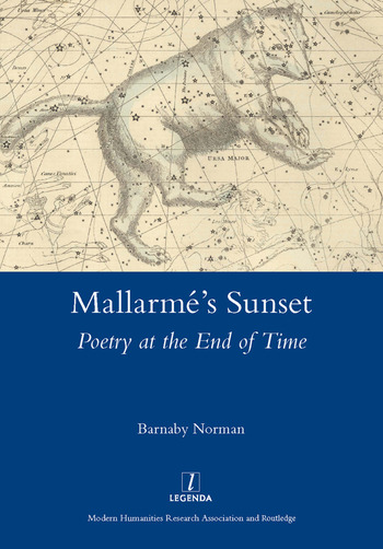 Mallarme's Sunset Poetry at the End of Time book cover