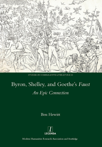 Byron, Shelley and Goethe's Faust An Epic Connection book cover