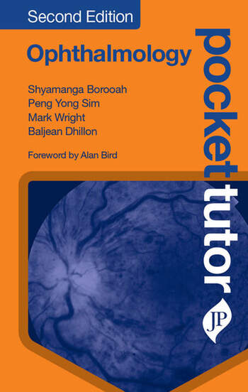 Pocket Tutor Ophthalmology, Second Edition book cover