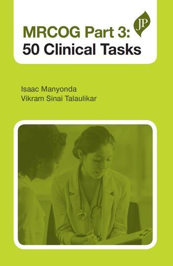 MRCOG Part 3: 50 Clinical Tasks book cover