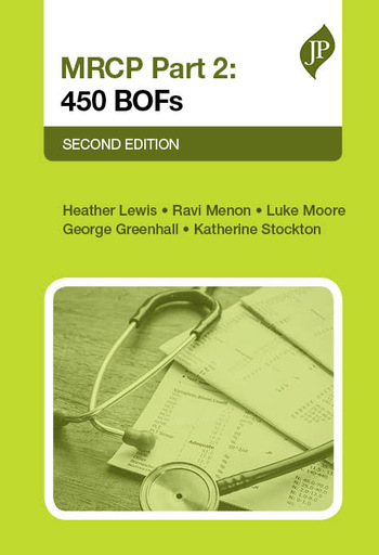 MRCP Part 2 450 BOFs book cover