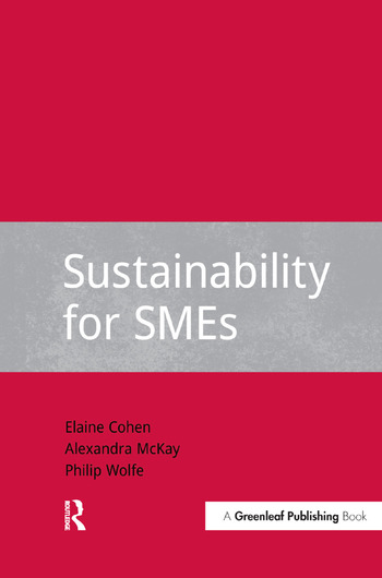 Sustainability for SMEs book cover