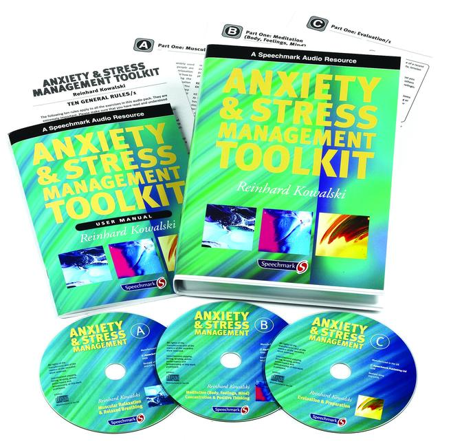 Anxiety & Stress Management Toolkit User Manual book cover