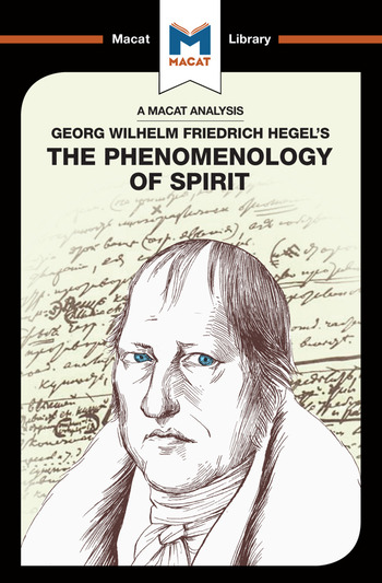 The Phenomenology of Spirit book cover