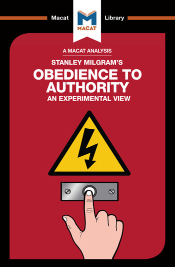 Obedience to Authority book cover