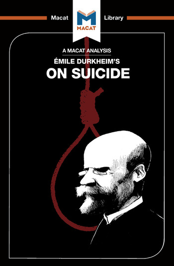 An Analysis of Emile Durkheim's On Suicide book cover