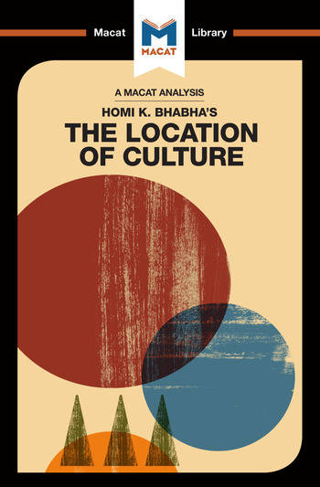 An Analysis of Homi K. Bhabha's The Location of Culture book cover