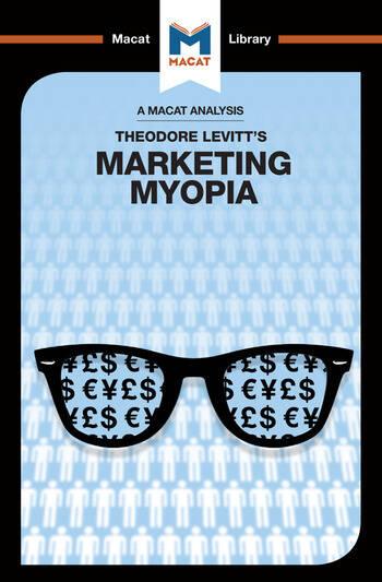 Marketing Myopia book cover